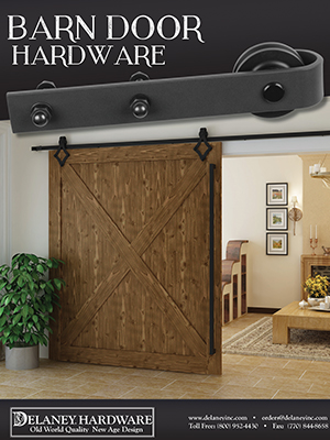 Yale Digital Locks, Brochure Name Delaney Barn Door Hardware